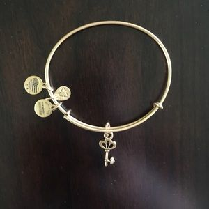Alex & Ani key charm bangle